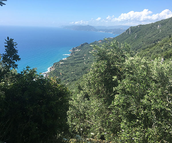 My Corfu Trail: Day 4